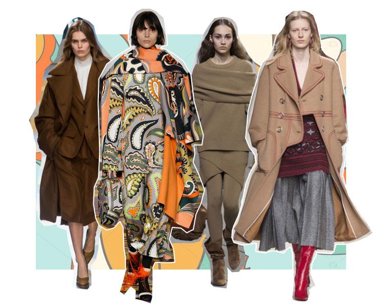 Майкл Корс на Нью-Йоркской неделе моды, осенне-зимний показ Фенди 2017, пальто Emilio Pucci, показ Jil Sander